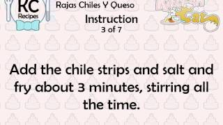 Rajas Chiles Y Queso - Kitchen Cat