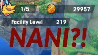 Dragalia Lost - How i got 200+ Facility level early | Hire em dragon labor! | Power level buildings