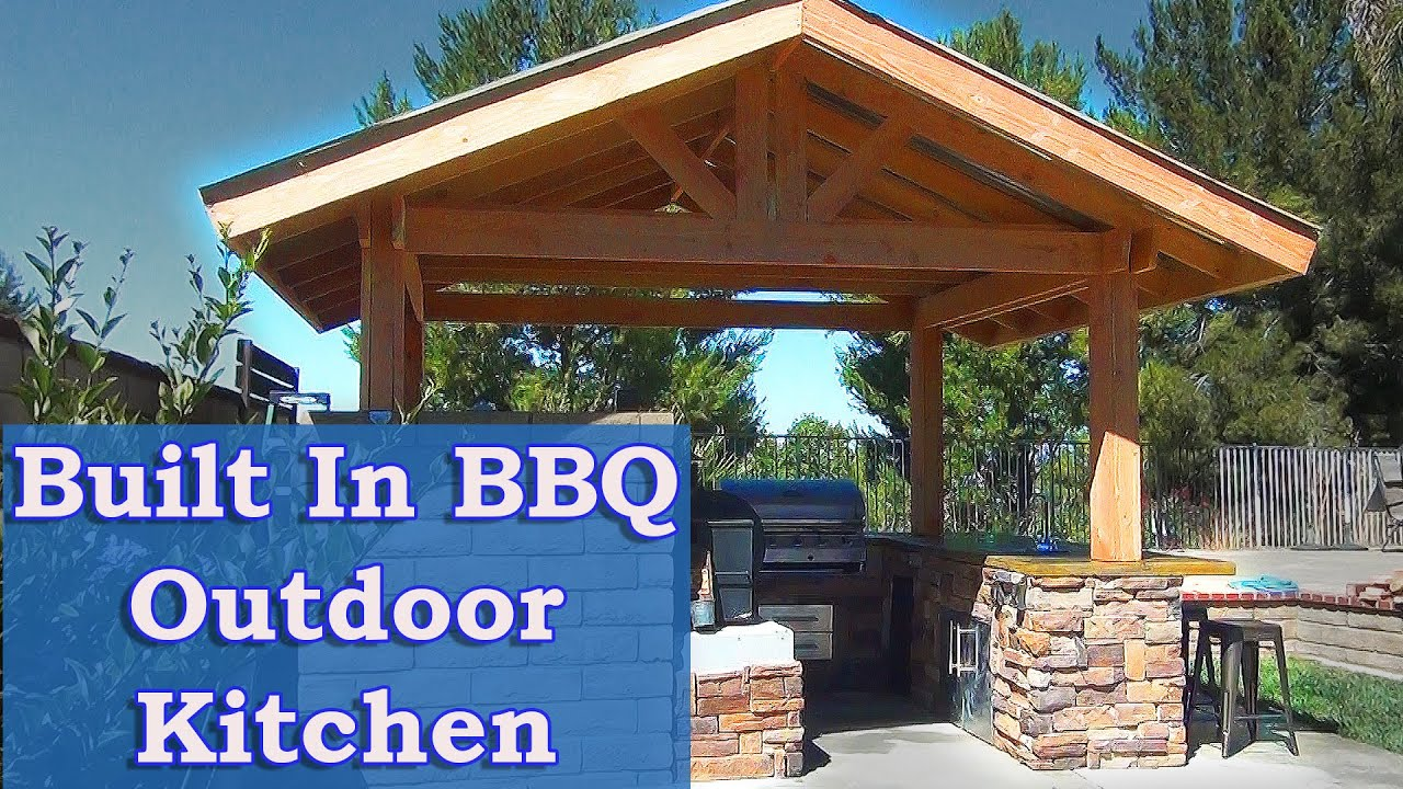Built In Bbq Outdoor Kitchen Youtube