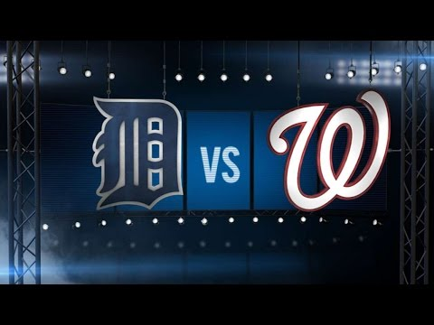 5/11/16: Scherzer's 20 strikeouts leads to victory