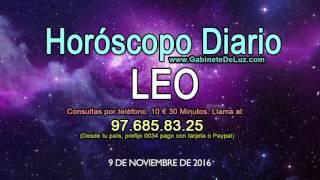 Horóscopo Diario - Leo - 9 de Noviembre de 2016