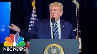 Trump Holds News Conference From Bedminster | NBC News