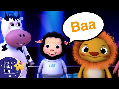 The Animal Sounds Song for Children  Nursery Rhymes   LittleBaBum!