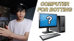 What computer should you use for SNEAKER BOTS? - BEGINNER'S GUIDE