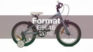 Детский велосипед Format Girl 16 2016. Обзор