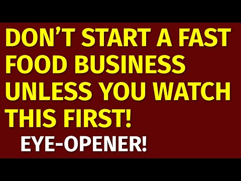 How To Start A Fast Food Business | Including Free Fast Food Business Plan Template