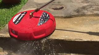 Pressure Washing with EZ Clean Surface Cleaner