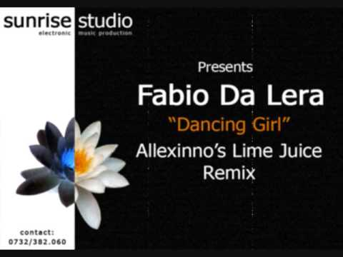 Fabio Da Lera - Dancing Girl (Allexinno's Lime Juice Remix)