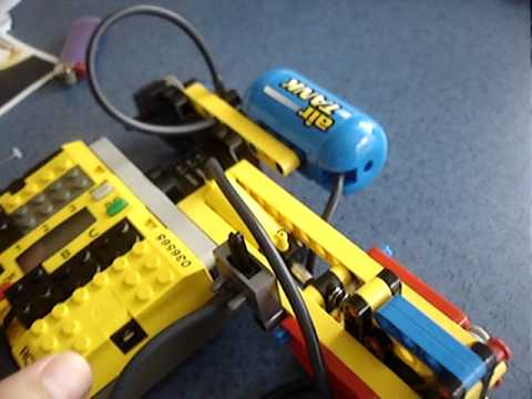 Automatic lego air Compressor - YouTube