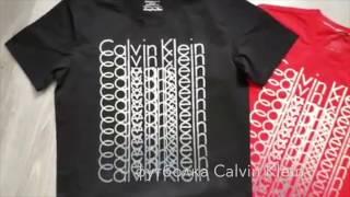 видео Мужские футболки Кельвин Кляйн