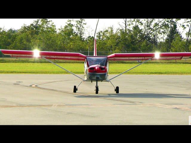 Wet Paint New! Zenith CH750 Cruzer at F95 Airport Calhoun County FL [ RAW VIDEO ]