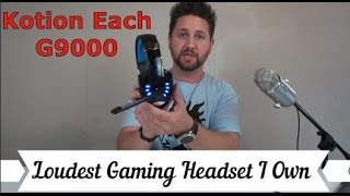 Best Pro Gaming Headset Under $30 | Kotion EACH G9000