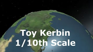 Toy Kerbal Solar System - 1/10th Scale Planets Mod