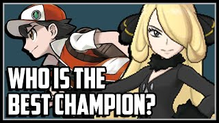 Top 10 STRONGEST Pokemon Champions!