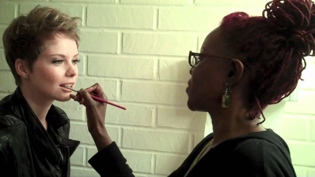 Andrea Osvart Hot Pics behind the scenes with regardmag featuring andrea osvart