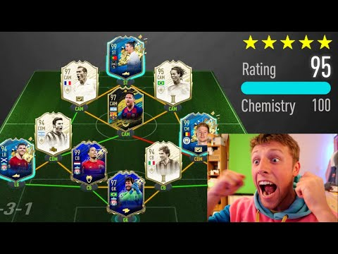 WORLDS FIRST 195 RATED FUT DRAFT!!  FIFA 20