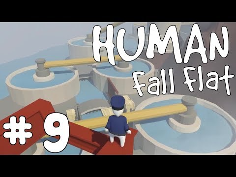 Human Fall Flat: E9 - Sewage Plant Swimming