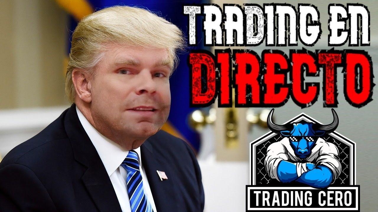 Day Trading en DIRECTO 👉 Scalping en acciones