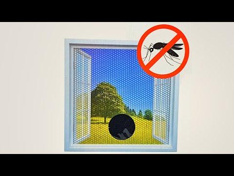 How To Install A Mosquito / Fly / Bug Window Net (Fenster Fliegen Netz Gitter Anbringen)