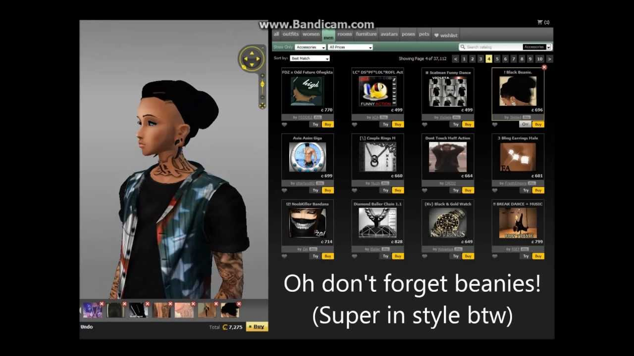 Dressing in Style. IMVU Street Swag by HOLY BETCHS