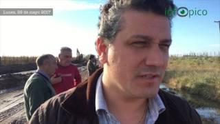 """Meridiano V: """"El agua tiene que correr"""", dijo el fiscal general, Armando Agüero"""
