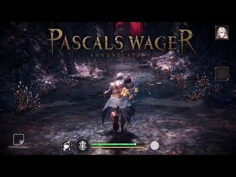 PASCALS WAGER - Dark Souls Style For Mobile - Latest Trailer