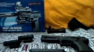 BB Gun MP-4460 SKU 19839 Airsoft Gun Thumbnail