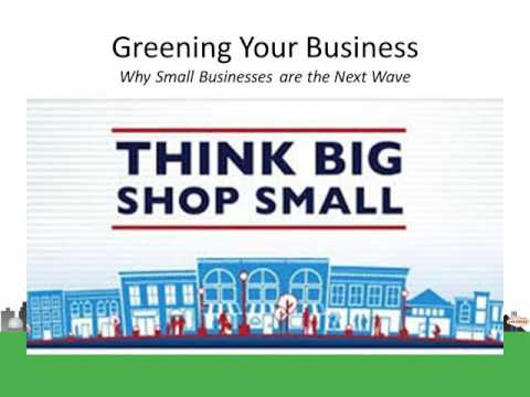 Chamber U:  Green Your Business