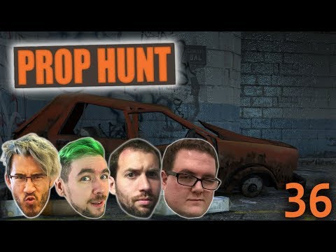 Great Minds Hide Under Stairs | Prop Hunt Ep. 36 w/Mark, Wade and Jack