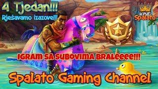 Rjesavamo izazove 4 Tjedna!!! - #Fortnite #Balkan #Live - Cilj 2900 subova +825 Pobjeda!!! #369