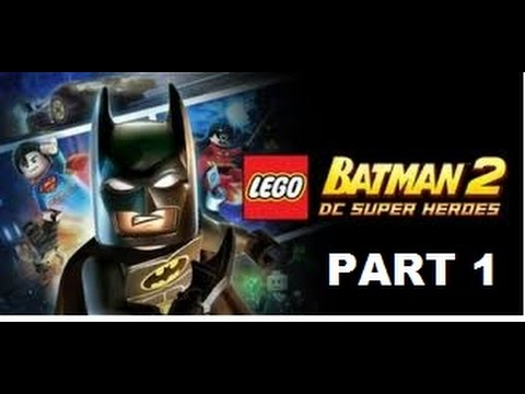 Lego Batman 2 - Theatrical Pursuits - Walkthrough Part 1 ...