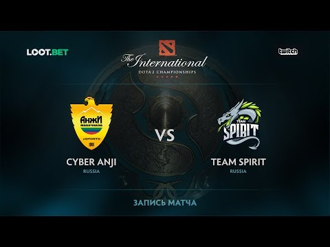 Anji vs Team Spirit, The International 2017 CIS Qualifier
