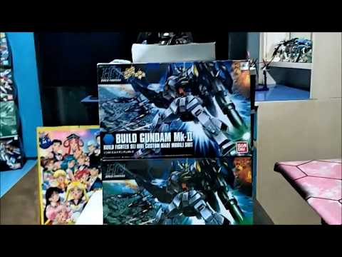 Let's Talk About Comparison Of HGBF 1/144 Build Gundam MK-II (PART 1: Unboxing)