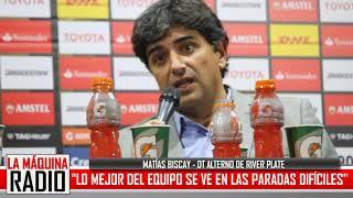 """BISCAY: """"LO MEJOR DEL EQUIPO SE VE EN LAS PARADAS DIFÍCILES"""""""