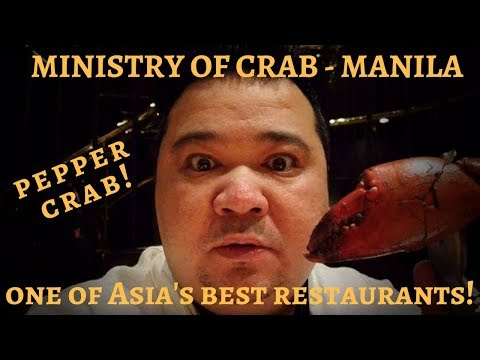 MINISTRY OF CRAB - MANILA | ONE OF ASIA'S 50 BEST RESTAURANTS |