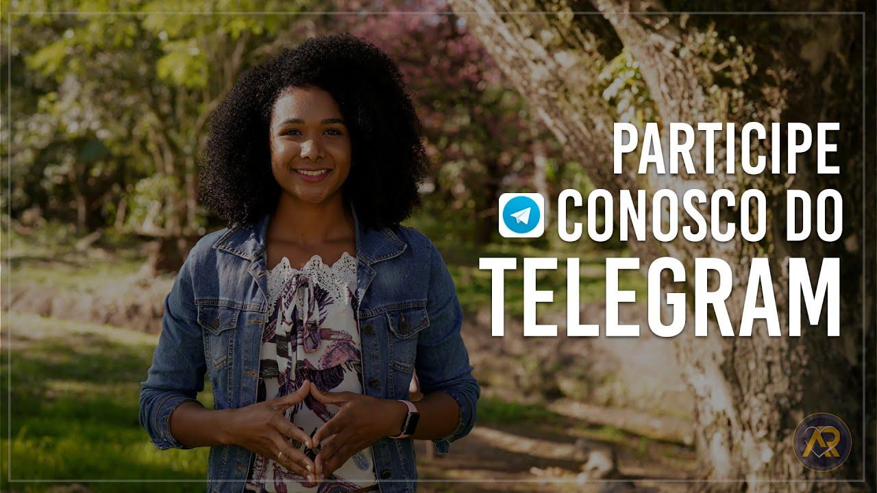Participe conosco do Telegram!
