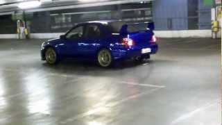 Subaru STI drift Silo with S3