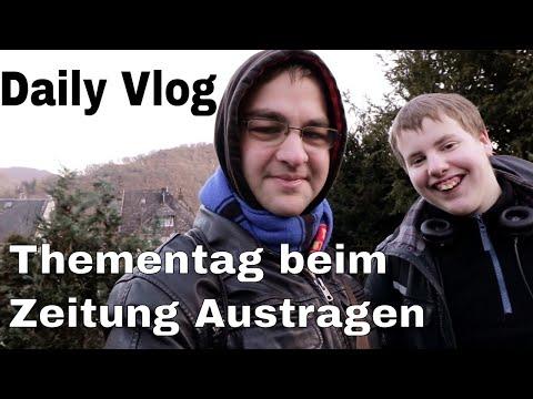 Daily Vlog Mit MacelTV Und Simon - Der Thementag Beim Zeitung Austragen!