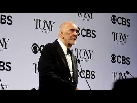 Frank Langella ('The Father'): Tony Awards 2016 backstage