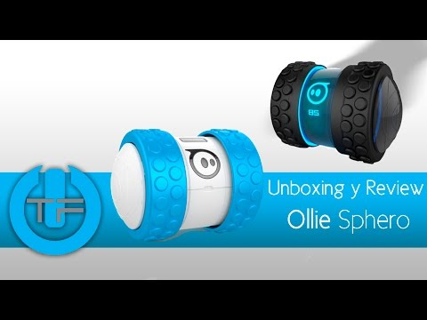 Unboxing & Review Ollie - trucos, Sphero juguete que se conecta a tu celular