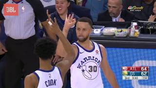 Sounds of the Game: Warriors vs. Hawks - 3/23/18