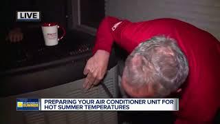 Preparing your a/c unit for hot summer temperatures