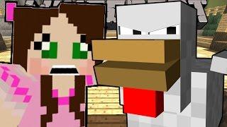 Minecraft: POPULARMMOS TURNS INTO A CHICKEN - A CHICKEN