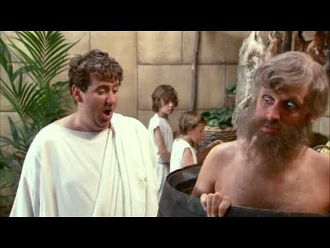 Horrible Histories Groovy Greeks:  Diogenes life in a barrel