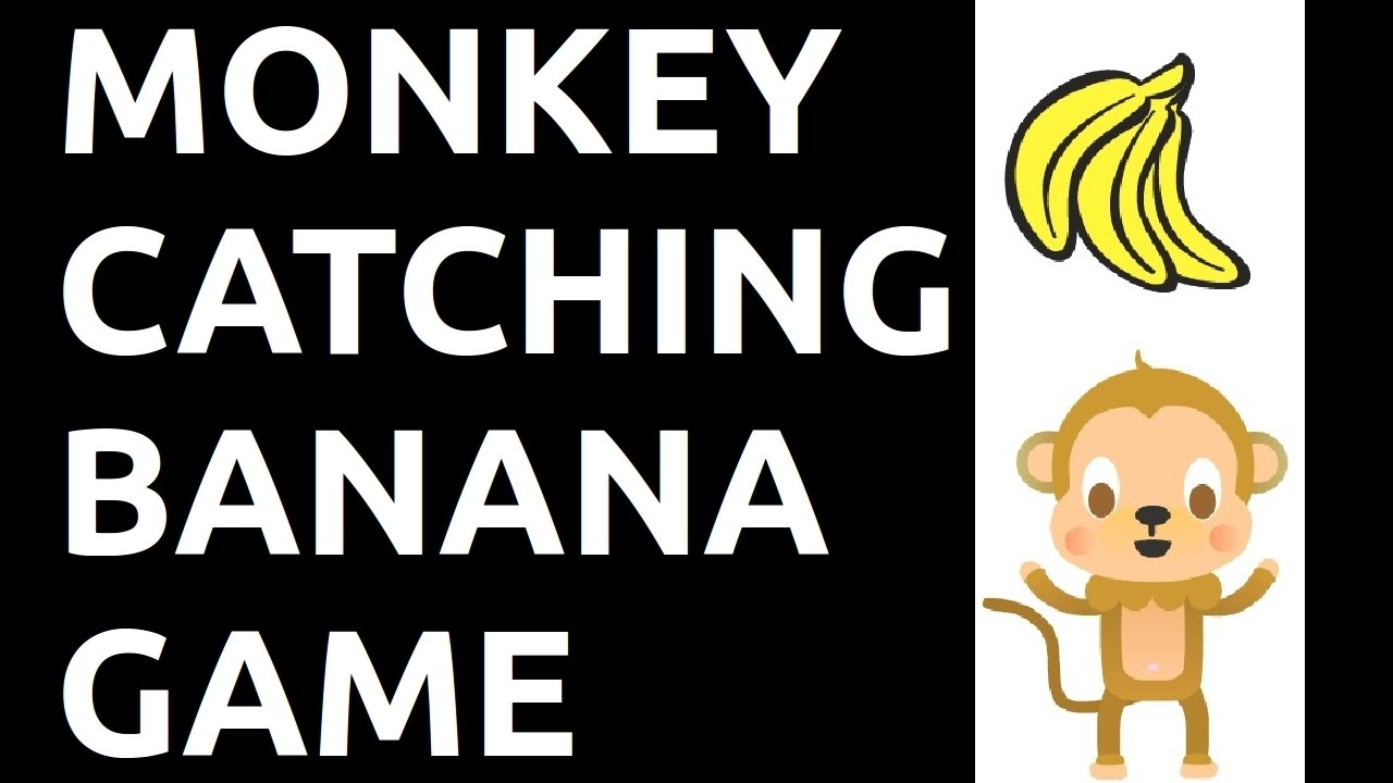 Monkey Catching Banana Game in Scratch!