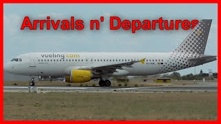 +8 Minutes Busy Morning | Landings and Departures