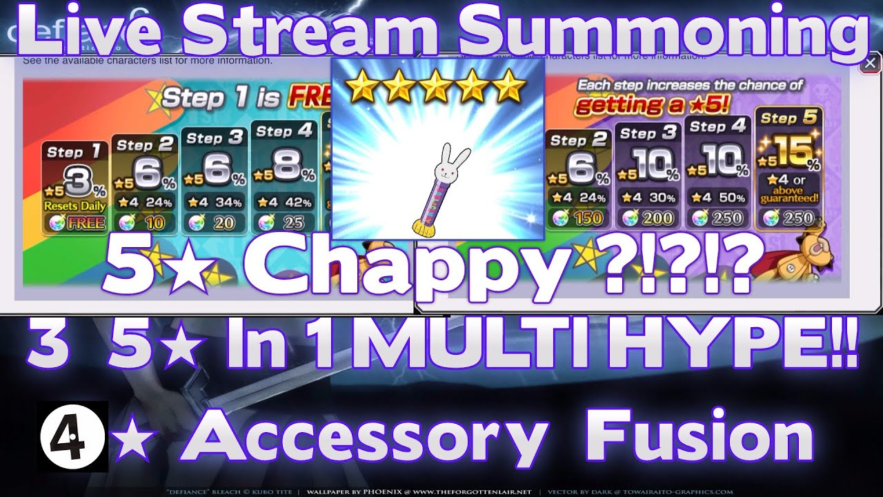 how to get chappy bleach brave souls