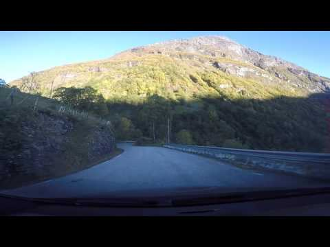 Drive from Stryn to Geiranger Norway