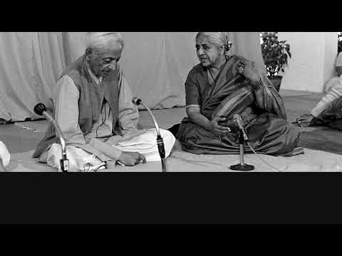 Audio   J. Krishnamurti & P. Jayakar – Ojai 1984 – Dialogue – What is the summation of...