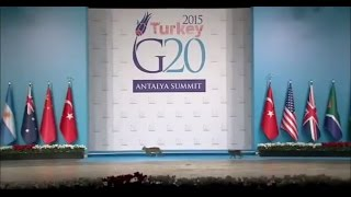 Cats take over the 2015 Turkey G20 Antalya Summit stage